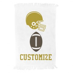Football Gold & Brown
