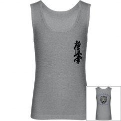Youth Jersey Tank Top with Kanji and Logo