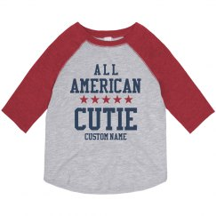 All American Cutie Custom Toddler