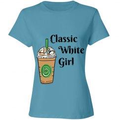 Classic White Girl Tee