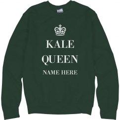 Customizable Kale Queen Design