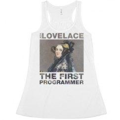 Ladies Flowy Racerback Tank
