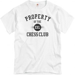 Property of the XXL Chess Club