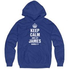 Let James handle it