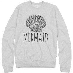 Mermaid Shell Pullover