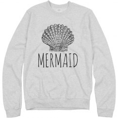 Mermaid Shell Pullover