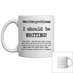 #writerproblems mug TWWBF 2021 Version