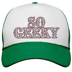 So Geeky Ball Cap