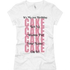 21st Birthday Clubbing Shirt