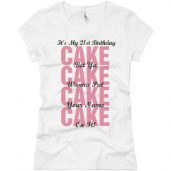 21st Birthday Clubbing Shirt