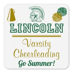 Lincoln Varsity Cheerleading Magnet_Item30C-5