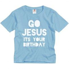Go Jesus Christmas Kid