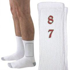 87TH HANES SOCKS
