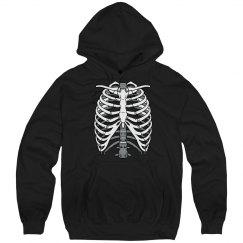 Skeleton Ribcage Graphic