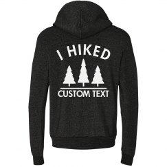 Custom Hiking Trail Hoodie