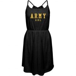 Trendy Army Girl