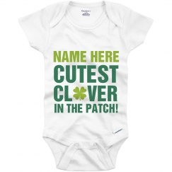 Custom St Patricks Day Onesie