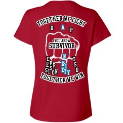 together we fight Anxiety T-Shirt