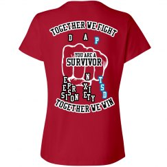 Together we fight PTSD T-Shirt