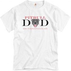 Pitbull Dad (Unisex T-Shirt)