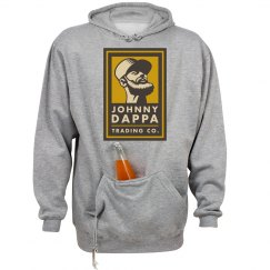 Johnny Dappa Trading Co. Premium Hoodie Vertical Tag