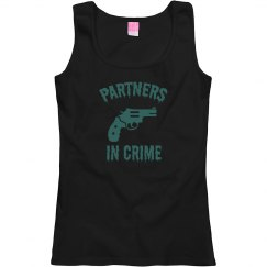 Partners In Crime Best Friends Woman's T-Shirt