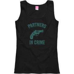 Partners In Crime Best Friends Woman's T-Shirt