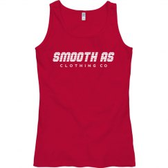 Smooth as Semi Fitted Anvil Ringspun Tank Top