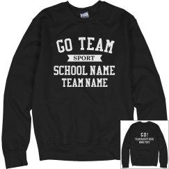 Custom School Team Pride Sweater