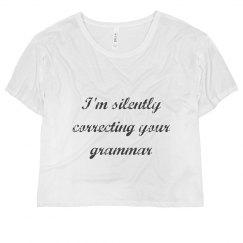 Correcting Your Grammar