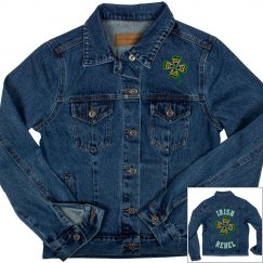Irish Rebel, Denim Jacket