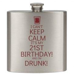 21st Birthday Keep Calm
