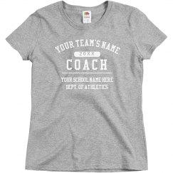Custom Coach Shirt