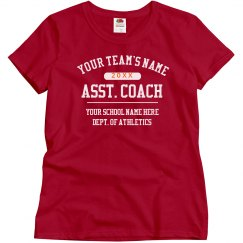 Custom Assistant Coach Shirt