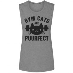 Perfect Gym Cat