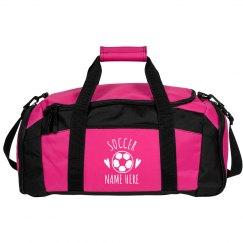 5b67e53b1007 Custom Trendy Soccer Bag