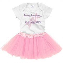 Being Awesome Baby Tutu