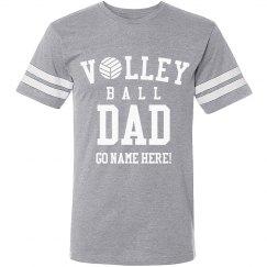 Custom Volleyball Dad Tee