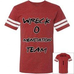team wreck Jersey shirt