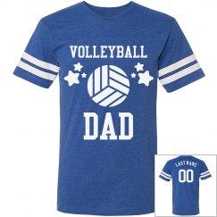 Custom Volleyball Dad Jersey