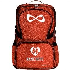 Custom Name Cheer Bow Bag