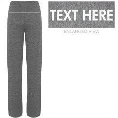 Personalized Jersey Lounge Pants