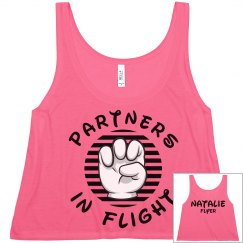 Matching Cheer Flight Partners Flyer Girl Crop
