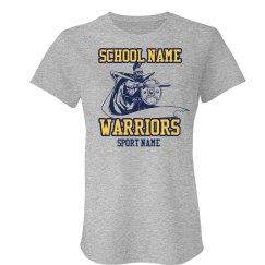 Warriors Mascot Template