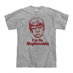 I'm So Deporable Mens Tshirt