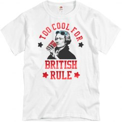 Metallic Too Cool For British Rule