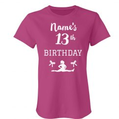 Custom Cheer 13th Birthday