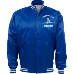 Custom Team Name Gymnastics Jacket