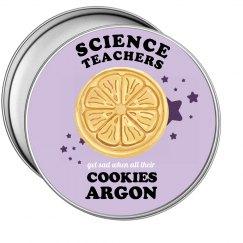 Science Teacher's Cookies