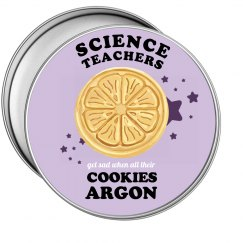 Science Teacher's Cookies
